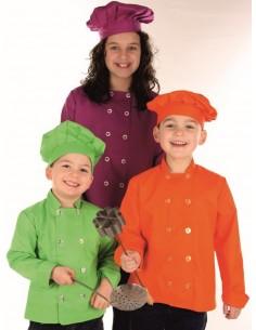 Casaca cocina infantil color