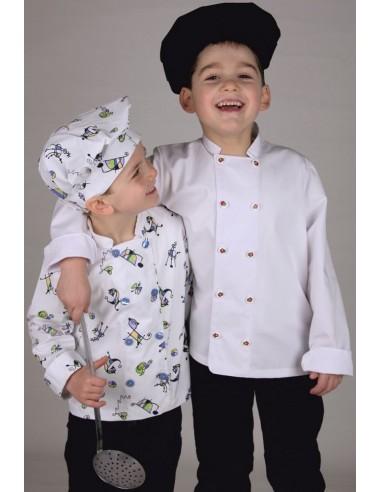 Casaca cocina infantil multiestampados
