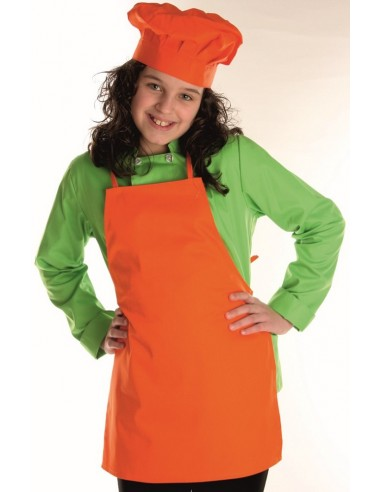 Delantal cocina infantil color