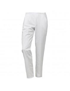 Pantalón con bolsillos blanco