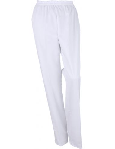 Pantalón sin bolsillos blanco